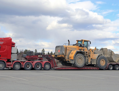For heavy equipment delivery, call on Double D Distribution