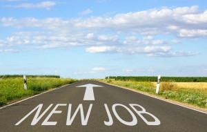 34201617 - new job - street with arrow