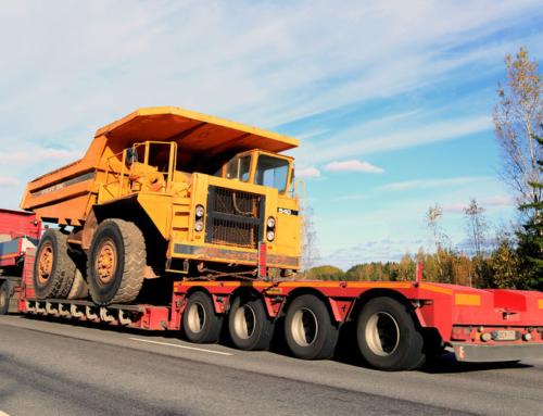 Heavy equipment hauling done right