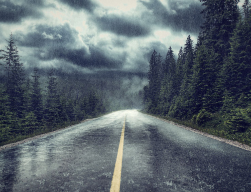 5 tips for safely driving a semi in heavy rain