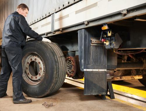 4 basic tire maintenance tips for truckers